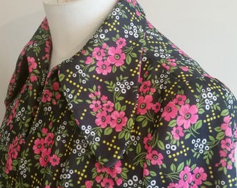 1960s pennyround smock top