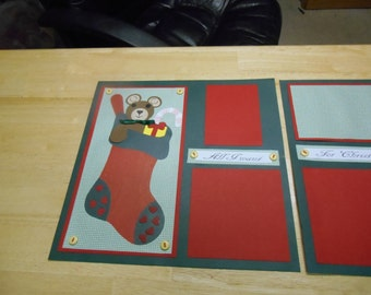 Christmas 2 page layout