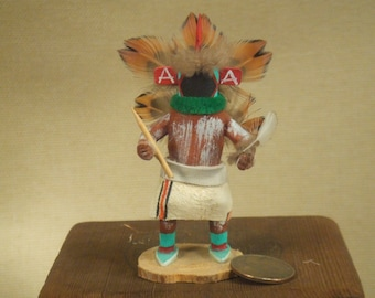 Native American Indian kachina - Star kachina art - signed