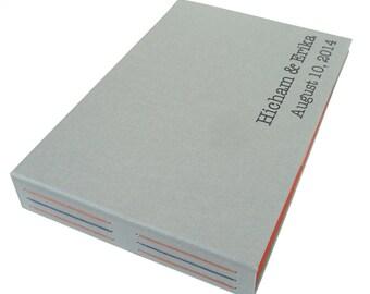 custom photobooth guestbook (4x6 2up) - 104 photos