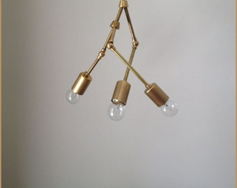 Trois Chandelier - 3 Bulb - MADE IN LA