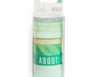 Heidi Swapp Washi Tape Pack, Mint