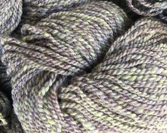 100% Shetland Wool in Pistachio & Berries
