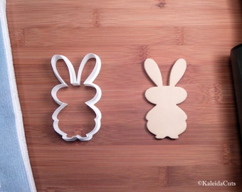 Easter Bunny Cookie Cutter. Baby Shower Cookie Cutter.  Easter Cookie Cutter. 3D Printed. Bunny Cookies. Easter Cookies. Rabbit Cookies.