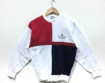 Rare!!! Vintage Munsingwear Sweatshirt Colour Block