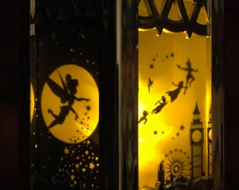 Peter Pan Inspired - Battery-Operated Plastic Mini Lanterns