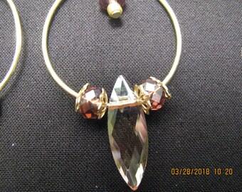 Soft Golden Marquise Earrings