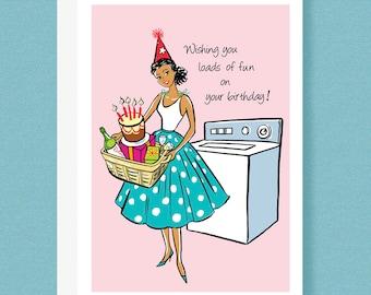 BD CARD - Wishing you loads of fun on your birthday!