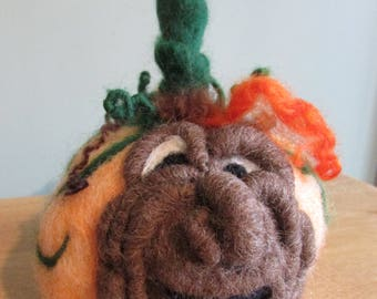 Pumpkin heads two to chose from
