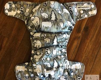 Philanthrobum - All-in-two cloth diaper