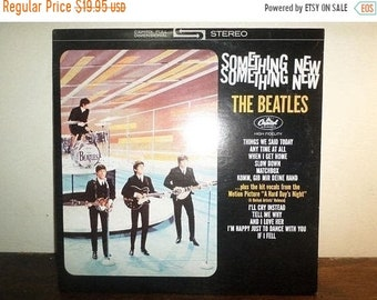 Vintage 1978 LP Record The Beatles Something New Capitol Records ST-2108 Stereo Near Mint Condition 10433