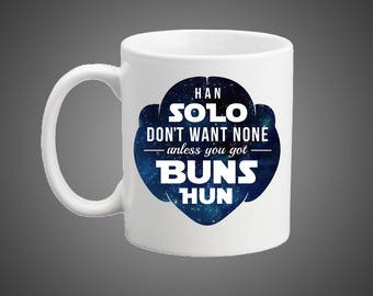 Space Princess Buns Mug