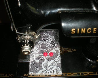 Featherweight Sewing Machine Seam Guide