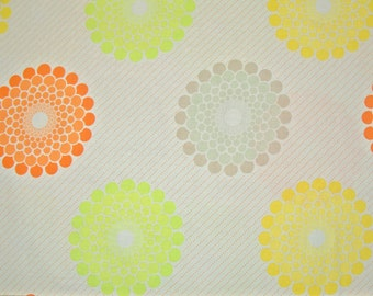 STORE CLOSING SALE - Riley Blake, Ashbury Heights, Orange, Doohikey Designs, 100% Cotton Quilt Fabric, Floral, Quilting Fabric