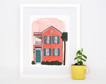 Charleston Single Print