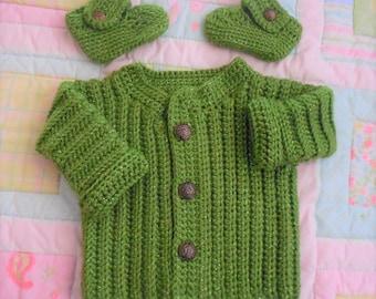 Baby boy sweater, baby sweater, baby crochet sweater boy, baby boy, crochet baby sweater set, handmade sweater baby, baby boy cardigan, gift