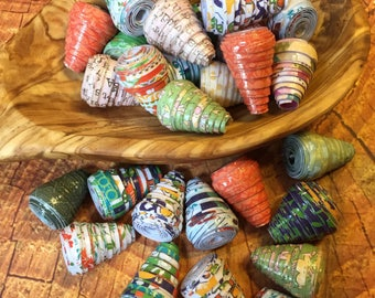 Paper Beads (great for angel bodies)
