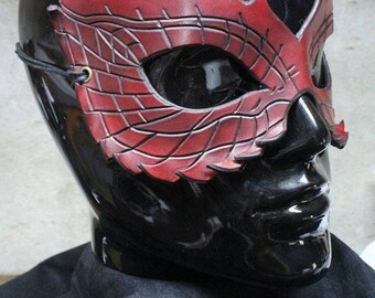 leather dragon mask