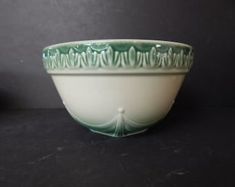 """Longaberger Ivy Green 8.25"""" Mixing Bowl, Excellent Condition"""