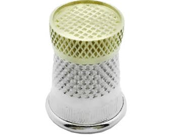 Raised Edge Thimble by Colonial Needle Co.  Size 6