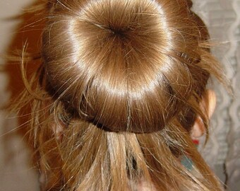 Three Hair  Bun Maker Donut