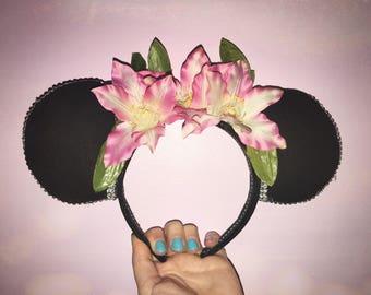 Aloha Princess Mouse Ear Headband