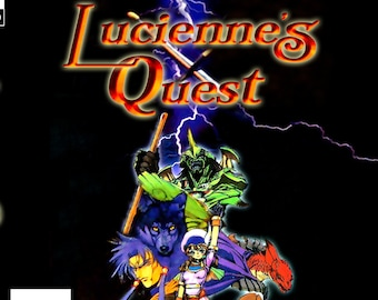 Lucienne's Quest Reproduction Panasonic 3DO Game.