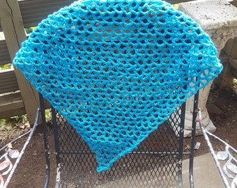 Large Blue Stuffed Animal Hammock