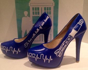 DrWhooooo heels