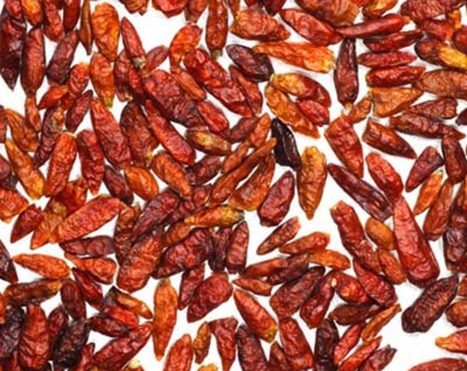 African Birdseye Chile Pods - Certified Organic