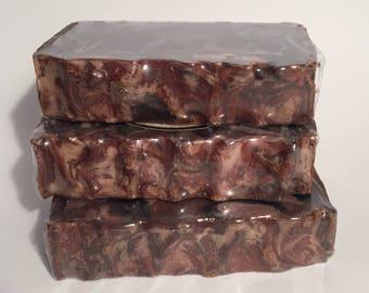 Chocolate Espresso Soap, Cold Process Soap, Homemade Soap, Handmade Soap, Vegan Soap