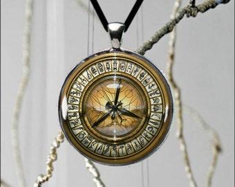 Awesome Golden Compass Book Movie Pendant Lyra Pantalaimon Lorek Mrs. Coulter Daemon  Custom Made Popular Design Necklace