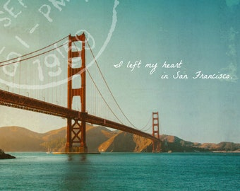 I Left My Heart In San Francisco Poster