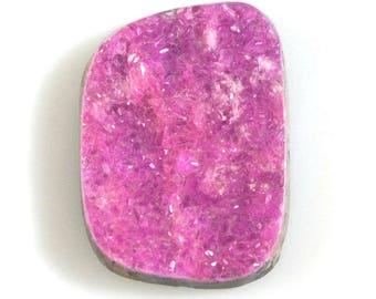 Cobalto Calcite Druzy Cabochon