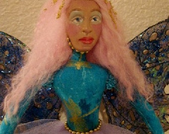 Fairy Art Doll-OOAK-(Take Orders for a Similar Fairy)