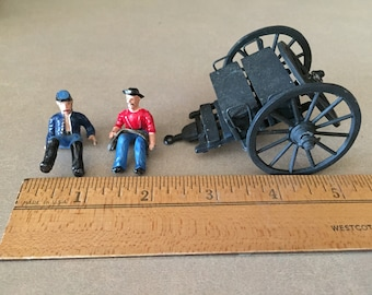 ACW 54mm Caisson and Crew from Bob Bard, Balto. MD.