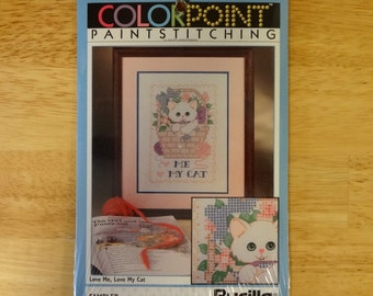 Cat Craft Kit, Vintage 1992 Unopened
