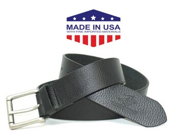 Winchester Kyle Leather Belt -Handmade Genuine Leather Belt from New York!