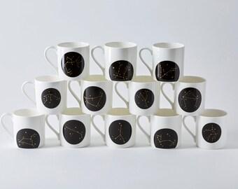 Black Constellation Mug