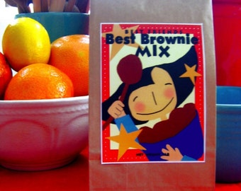 Brownie mix Gourmet Chocolate perfect gift 2 packs
