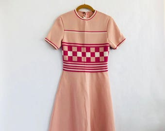 60s Checkered Me Out Dress