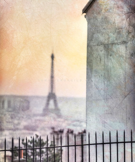 Paris photography, Eiffel Tower photo, Eiffel Tower decor, Paris Eiffel Tower, Paris decor, Paris print, Paris art, Orange