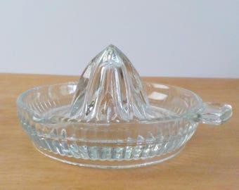 Vintage Clear Glass Juicer • Simple Little Vintage Juicer