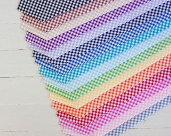 Necktie, Mens Necktie, Neck Tie, Groomsmen Necktie, Ties, Tie, Wedding Neckties, Gingham Necktie, Ties - Gingham Collection (18 Colors)