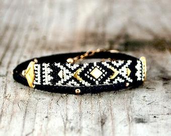 wrap bracelet,stackable bracelets,boho style,boho bracelet,beach chic, boho chic jewelry,aztec style,arm candy,trendy jewelry,unique jewelry