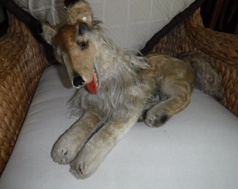 "Steiff Collie Dog 22"" made from 1950-1968"