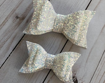 Stacked Glitter Bow