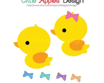 Rubber Duck Clip Art / Duck Clipart / Rubber Duck Digital Images / Commercial & Personal