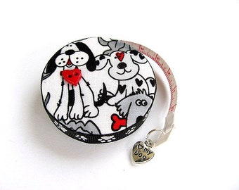 Measuring Tape Graphic Dogs Retractable Tape Measure