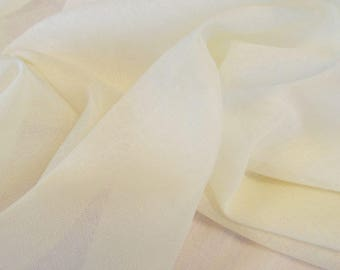 59 Inch Wide Muslin Fabric – Natural